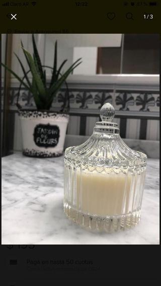 Souvenirs Vela De Cera De Soja Perfumada En Caramelera