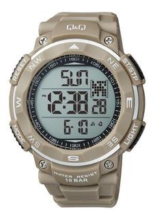 Reloj Digital Q&q M124-005 Sumergible 100 Metros