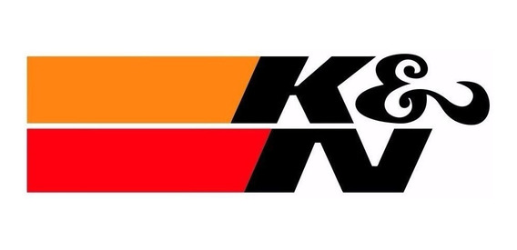 2 Adesivo K&n Ken Kn Filtro Ar Esportivo Tuning Race Carro