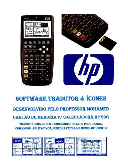 Hp 50g Tradutor Em Cartão Sd + Manual Operação + Programação