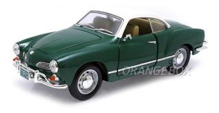 Volkswagen Karmann-ghia 1966 1:18 Yat Ming 92198-verde