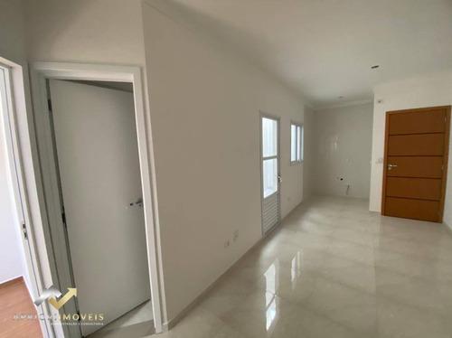 Apartamento Com 2 Dormitórios À Venda, 47 M² Por R$ 265.000,00 - Vila Príncipe De Gales - Santo André/sp - Ap0649
