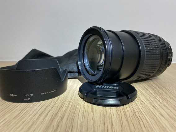 Objetiva Nikon Zoom 18-105mm - Super Conservada