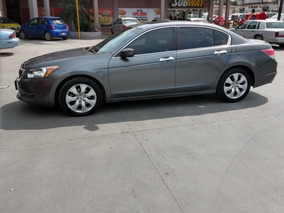 Honda Accord 3.5 Ex Sedan V6 Piel Abs Qc Cd Mt 2009