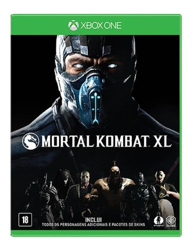 Imagen 1 de 4 de Mortal Kombat XL Warner Bros. Xbox One  Físico