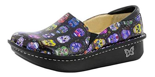 Alegria Debra Womens Pro Shoe Calaveras De Azucar