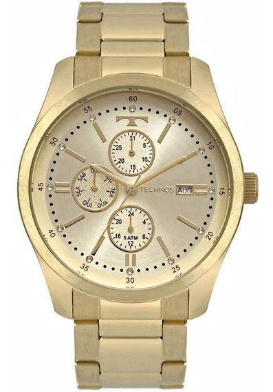 Relógio Technos Trend 6p89hy/4x Dourado
