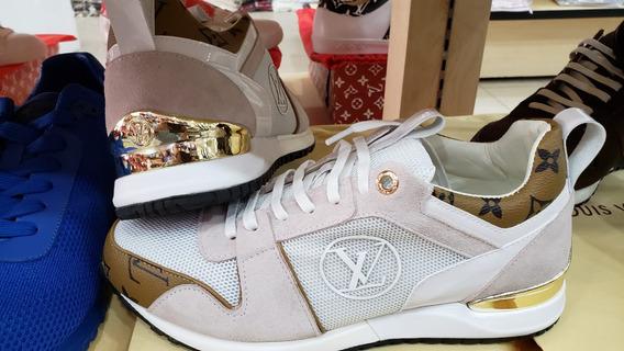 L V Tenis Logo Sneakers