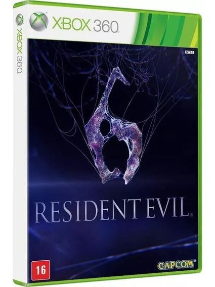 Resident Evil 6 Leg Português M Física Xbox 360 Lacrado
