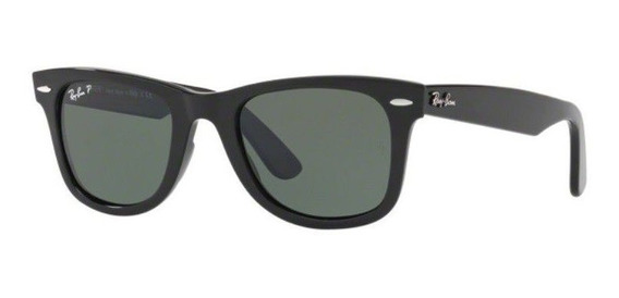 Oculos Sol Ray Ban Wayfarer Rb4340 601 58 50 Preto Polarizad
