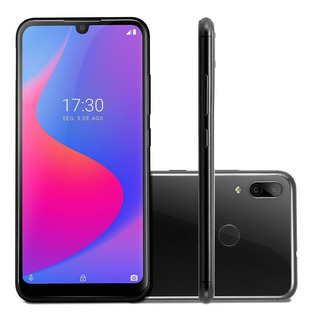 Smartphone Multilaser G Pro 64gb 4g 2gb Ram Tela 6,1 Ips Câm. Dupla 13mp+2mp Preto - Nb782