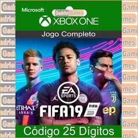 Fifa 19 Xbox One Código 25 Dígitos Oficial Em 12x Sem Juros