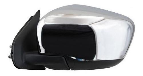 Imagen 1 de 1 de Espejo Retr Izq Electrico Cromado Nissan Np300 Frontier 16-