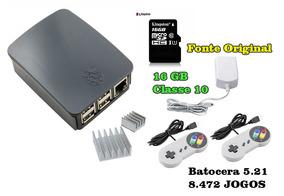 Video Game Retro Raspberry Pi 3 16gb