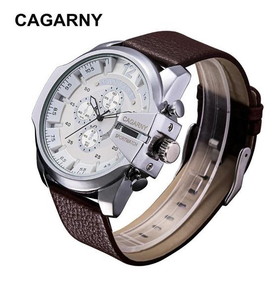 Relógio De Pulso Masculino Importado Original Cagarny