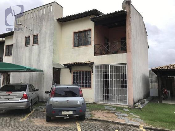 Casa Com 3 Dormitórios À Venda, 82 M² Por R$ 280.000,00 - Cidade Dos Funcionários - Fortaleza/ce - Ca3048