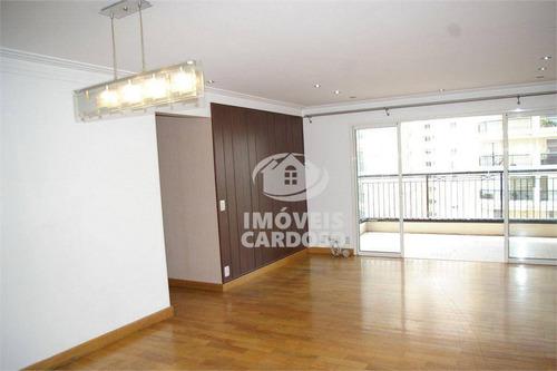 Imagem 1 de 30 de Apartamento Com 3 Dormitórios À Venda, 121 M² Por R$ 1.595.000 - Perdizes - São Paulo/sp - Ap18729