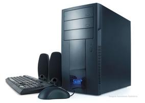 Computador Intel Celeron 2gb Ram Hd 160gb + Monitor 15,6