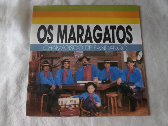 Lp Os Maragatos 1991 Chamarisco De Fandango, Disco De Vinil
