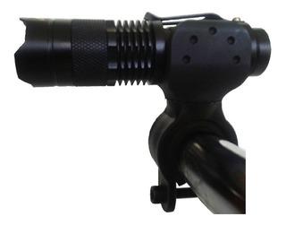 Lanterna De Mão Led Q5 Cree Recarregavel Original 2 Baterias