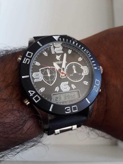 03 Relógio De Pulso Potenzia Masculino Atacado Revenda