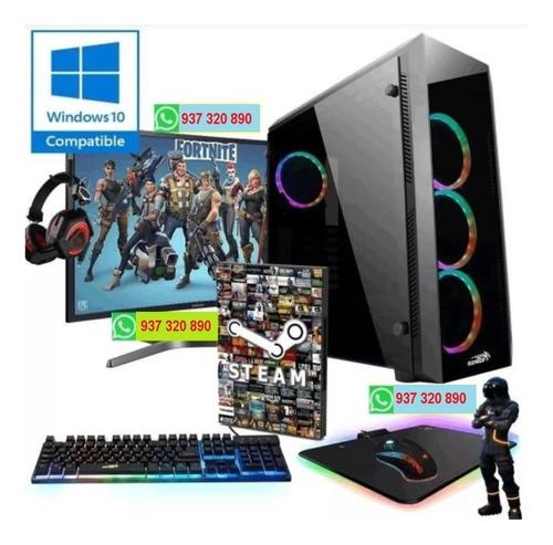 Pc Gamer A8 9600 16gb Ssd 240gb Monitor 24 Fhd Completa