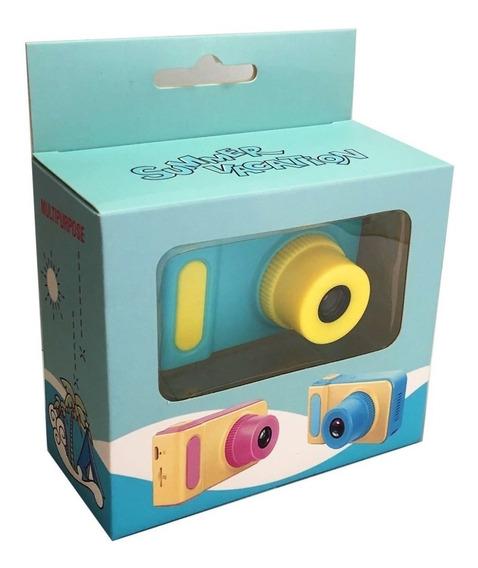 Mini Câmera Vídeo E Fotos Digital Adorável Crianças Infantil