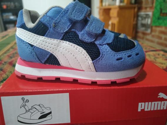 Zapatillas Para Niños Puma Softfoam+ Talle 5c Usa, 20 Eur
