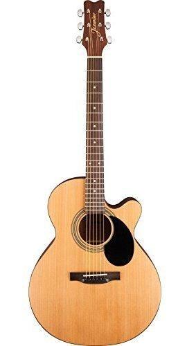 Imagen 1 de 7 de Guitarra Acustica Jasmine S34c Nex