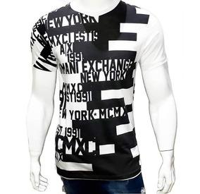 Camiseta Camisa Blusa Masculina Armani Exchange A|x