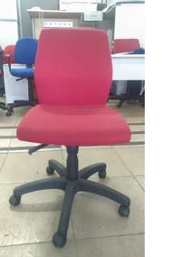 Cadeira Vermelha P/ Escritório C/ Encosto Alto