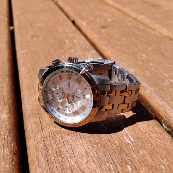 Relógio Guess W15520g1 Dourado/prata