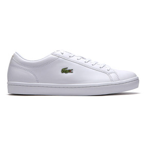 Tenis Lacoste Straightset Hombre Blanco Casual Gucci Coach