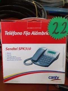 Teléfono Fijo Alabrico Sendtel Spk 310