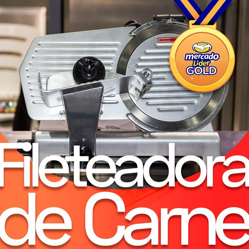 Imagen 1 de 2 de Fileteadora Cortadora De Carne Rebanadora De Embutidos