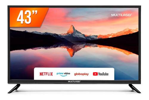 Smart Tv Led 43  Full Hd Multilaser Tl012 3 Hdmi 2 Usb Wifi