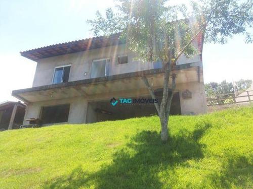 Chácara Com 3 Dormitórios À Venda, 625 M² Por R$ 413.400,00 - Sousas - Campinas/sp - Ch0030