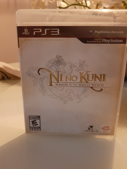 Ni No Kuni Wrath Of The White Witch Ps3 Midia Fisica