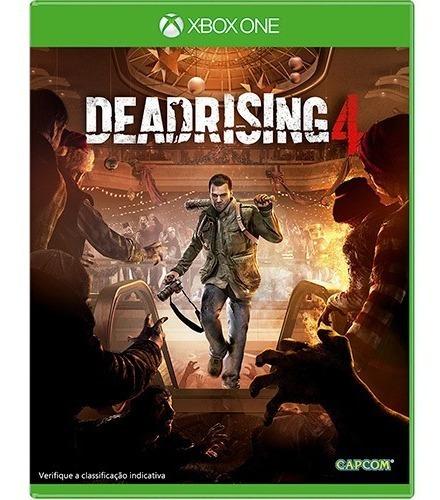 Dead Rising 4 Xbox One Mídia Física Semi Novo