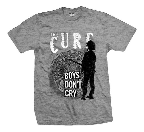 Remera The Cure Boys Dont Cry