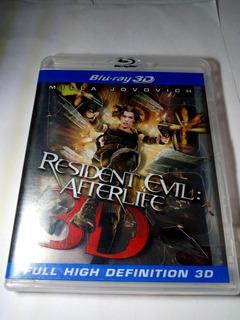 Resident Evil Afterlife Bluray 3d Resident Evil Resurrección