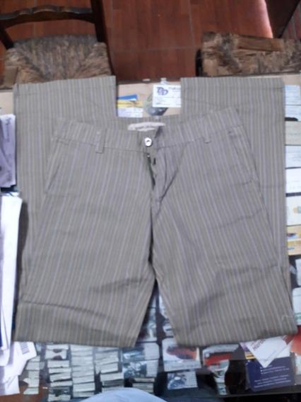 Pantalónes Rayado Hombre Talle 26 Y 30 Bwk X Unidad