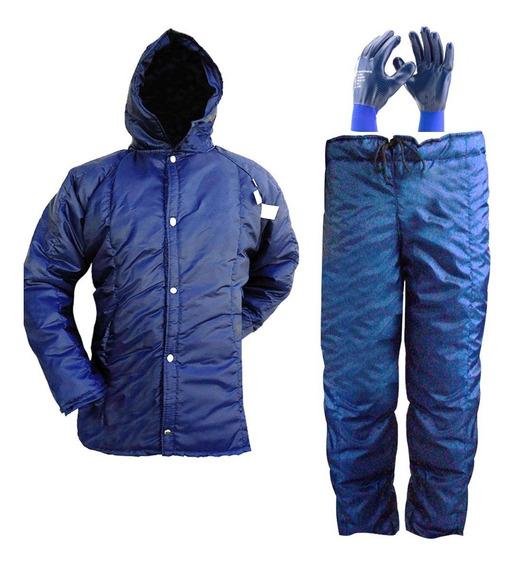 Conjunto Termico Para Camara Fria ( Japona Calça E 3** Luva)