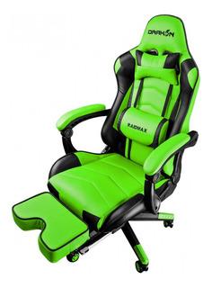 Silla Gamer Raidmax Dk-709 Black/green