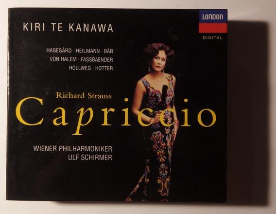 R Strauss Box Imp 2cds Capriccio 1996 Te Kanawa Ulf Schirmer
