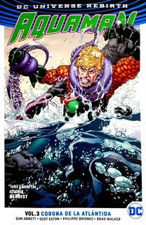Aquaman Vol.3 Corona De La Atlántida