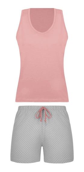 Pijama Lupo Feminino Short Doll Regata 24305