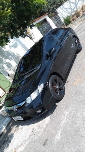 Imagem 1 de 10 de Honda Civic 2008 1.8 Lxs Flex Aut. 4p