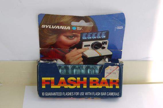 Sylvania Bluedot Flash Bar 10 Flashes Vintage Bulbs Polaroid