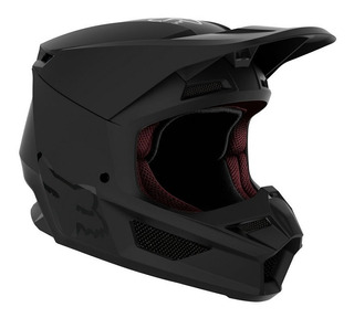 Casco De Motocross V1 Enduro Youth (jovenes) Matte Black